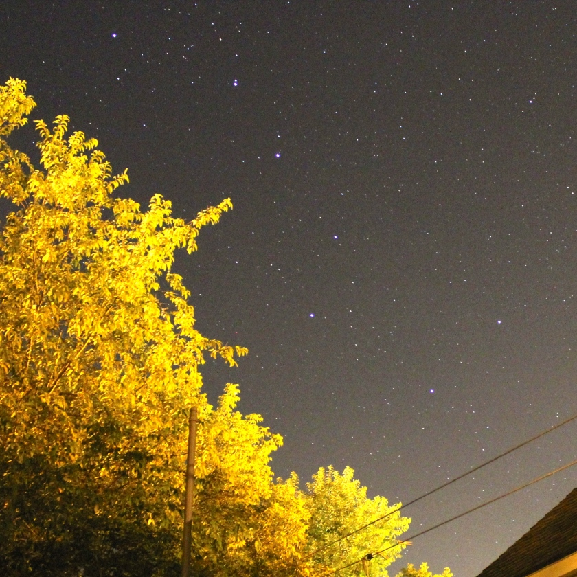 Big Dipper, ISO 3200, 20 second exposure