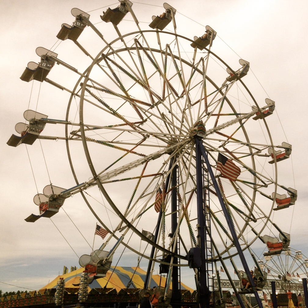 Ferris wheel, New Hampshire State Fair, Lancaster, NH.