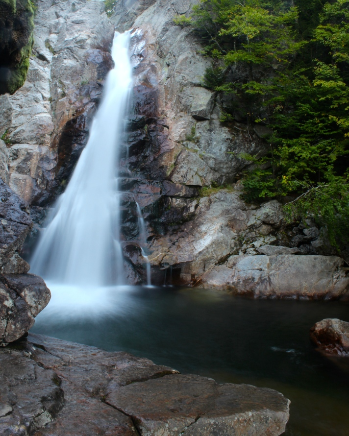 Glen Ellis Falls, Pinkham Notch, NH.