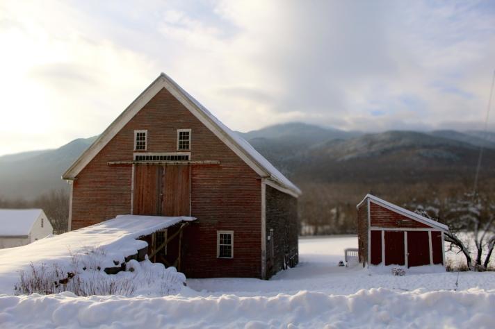 Barn, Randolph, NH.
