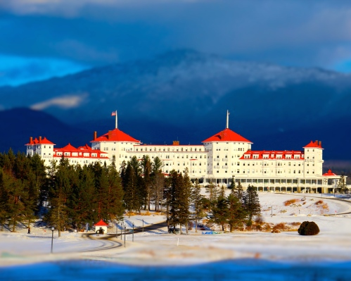 Mount Washington Hotel, Bretton Woods, NH.