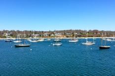 Boats in harbor, Martha's Vineyard, MA.