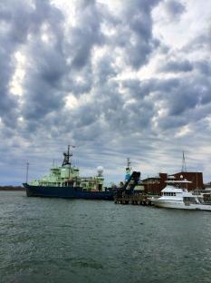 Research ship Atlantis, Woods Hole, MA.