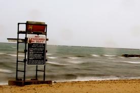 Lifeguard chair, Hyannis, MA.