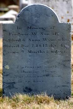 Tombstone, Nantucket Island.