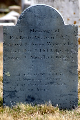 Tombstone, Nantucket Island.