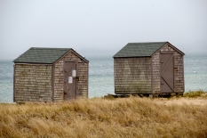 Restaurant outbuildings, Nantucket Island, Mass.