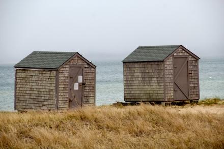 Restaurant outbuildings, Nantucket Island.