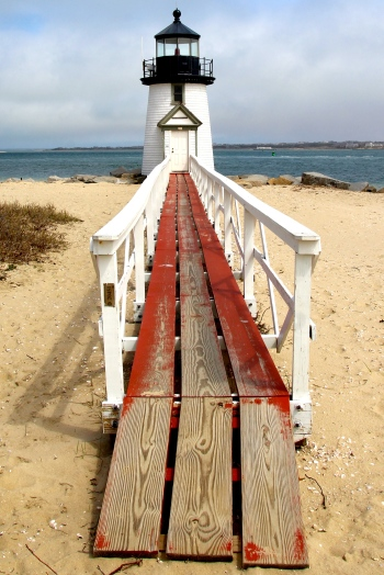 Brant Point Lighthouse, Nantucket Island.