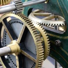Clock gears, Nantucket Whaling Museum.