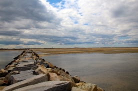 Breakwater out to Wood End, Provincetown, Cape Cod, MA.