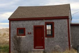 Vacant beach cabin, Truro, Cape Cod, MA.