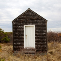 Outbuilding at historic Transatlantic Cable site, Cape Cod National Seashore, MA.