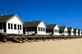 Beach cabins, Truro, Cape Cod, MA.