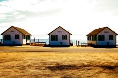 Beach cabins, Truro, Cape Cod, MA.