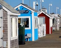 Kiosks, Provincetown, Cape Cod, MA.
