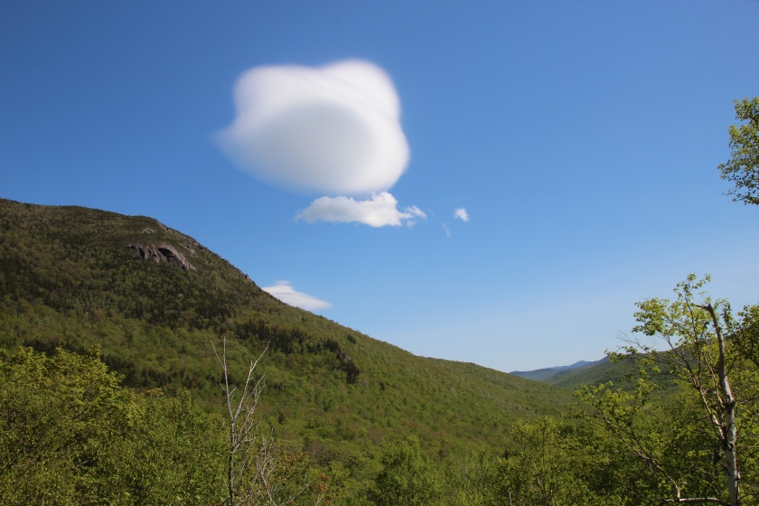 Lenticular cloud over Pinkham Notch, NH