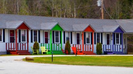 Vacation cabins, Randolph, NH.