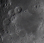Mare Nectaris (Sea of Nectar)—much better view.