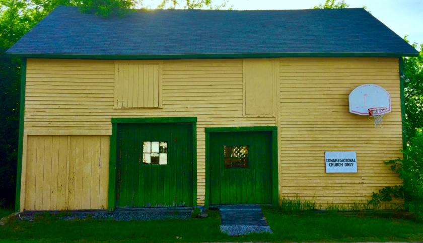 Congregational Church garage, Gorham, NH