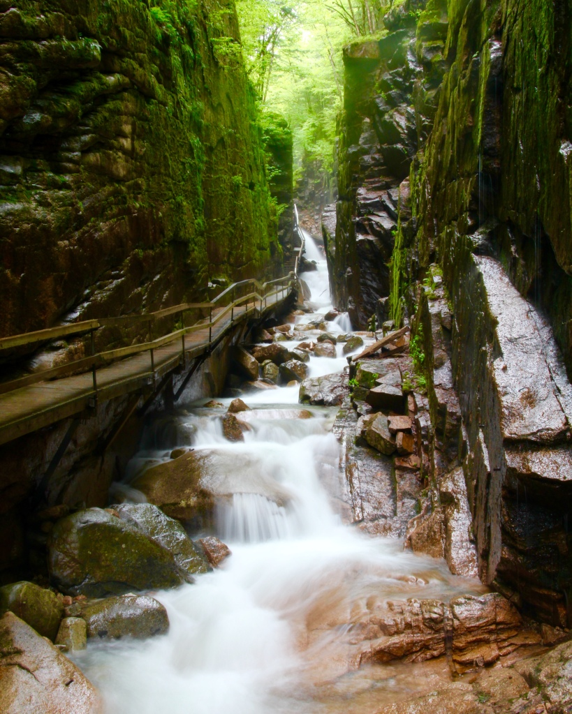 Flume Gorge State Park, Franconia Notch, NH