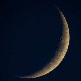 Crescent moon, Gorham, NH