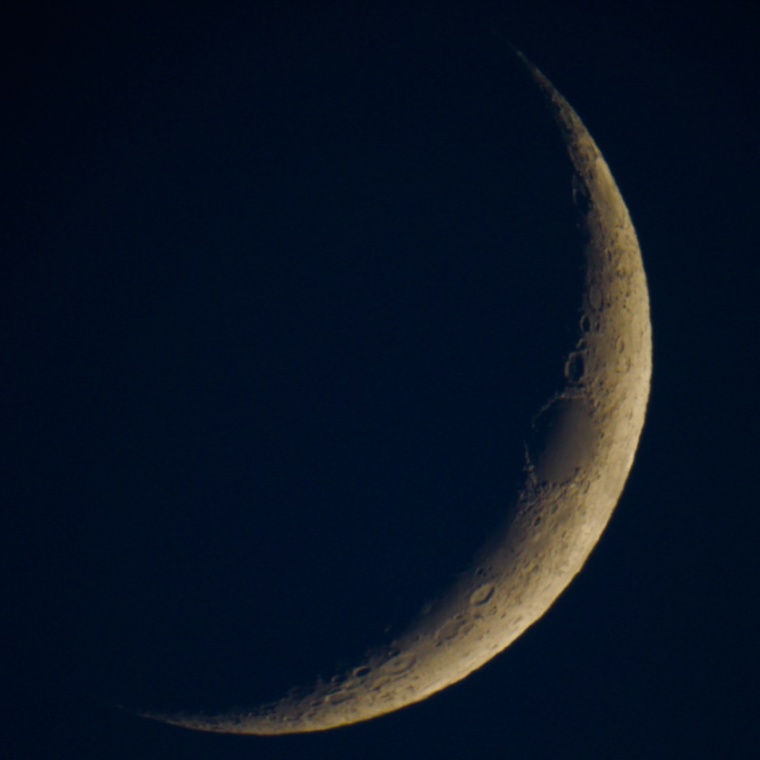 Crescent moon, Gorham, NH