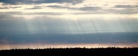 Sunrise over Yarmouth, Nova Scotia