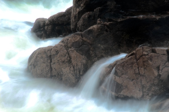 Rocks and surf, Neil's Harbour, Cape Breton Island, NS