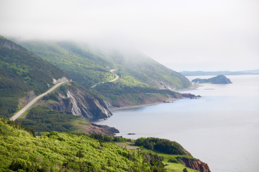 Cabot Trail, Cape Breton Highlands National Park, NS
