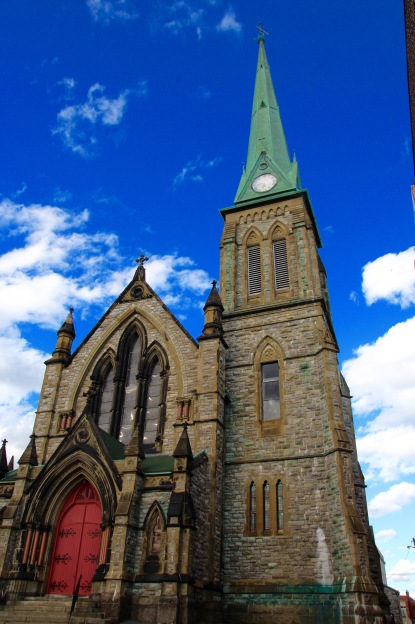 Catholic church, Saint John, NB