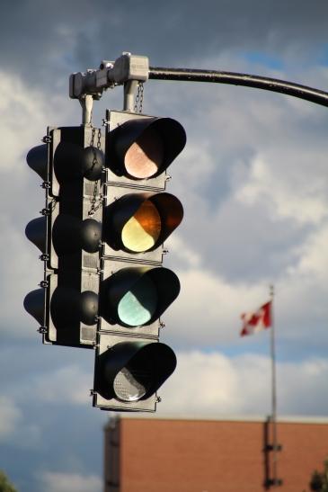 Stoplight, St. John, New Brunswick