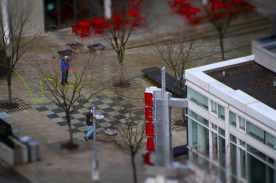 Pedestrian mall, Portland, Ore.