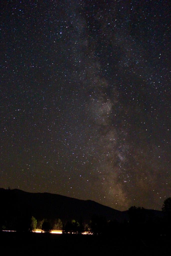 Center of Milky Way galaxy, Randolph, NH. 30 second exposure, ISO 6400, 18mm, f/3.5