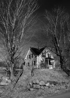 Farmhouse, Miles Pond, Vt.