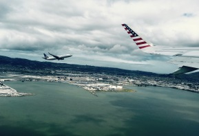 Tandem takeoff, San Francisco, Calif.