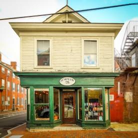 Barber shop, Portsmouth, NH