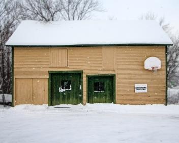 Church storage building, Gorham, N.H.