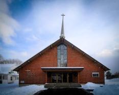 Catholic church, Gorham, N.H.