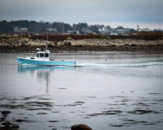 Fishing boat, Rye, NH