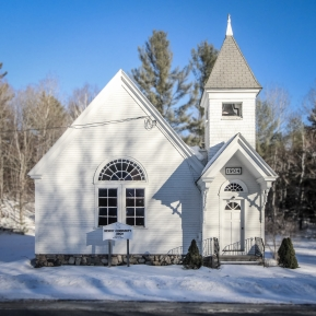 Church, Newbry, Maine.