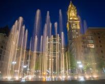 Rings Fountain, Boston, August 2017