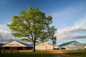 Fairgrounds, Fryeburg, Maine, May 2016