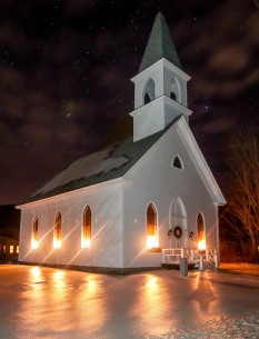 Church, Shelburne, N.H., December 2016