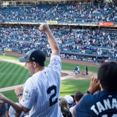 Yankees win, Bronx, August 2017