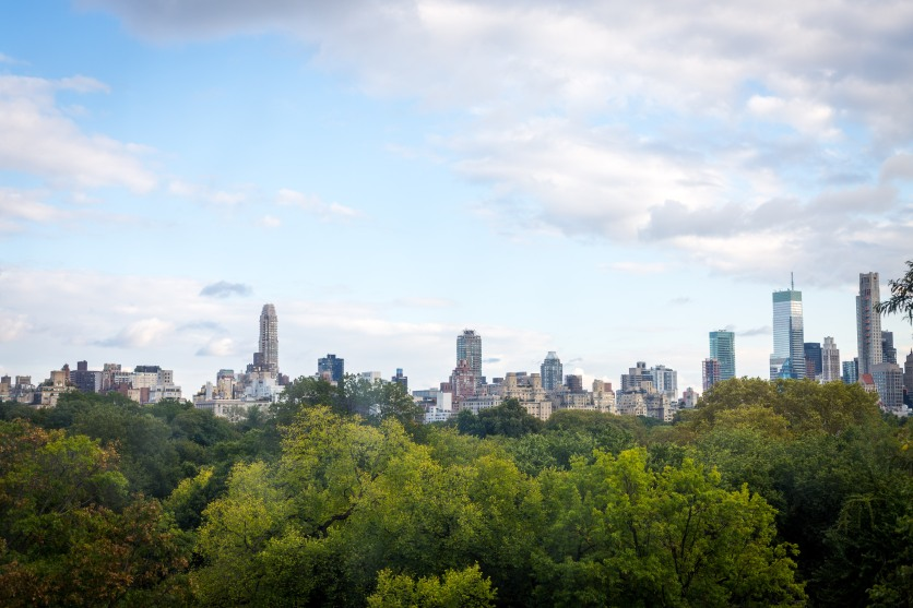 Upper West Side, Manhattan, from Central Park
