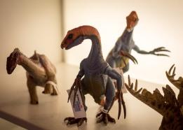 Dinosaur toys in Greenwich Village toy shop, October 2017.