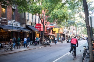 Little Italy street, New York, N.Y.