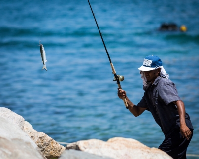 Fisherman, Cabo San Lucas, Mexico, July 2018