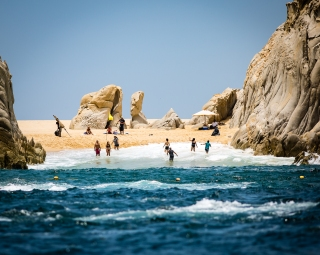 Lovers Beach, Cabo San Lucas, Mexico, July 2018
